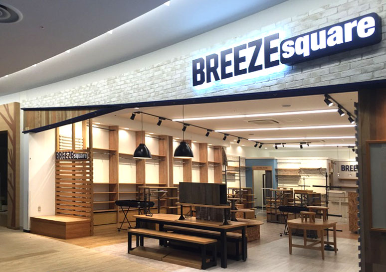 BREEZE square  ららぽーとEXPOCITY店
